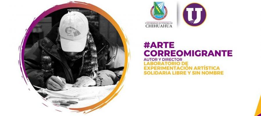 #ArteCorreoMigrante