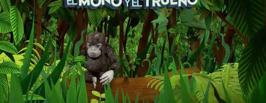 Cortometraje animado Uuzto ztum büüñe. El Mono y el Trueno