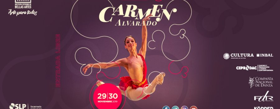 "Tercera Muestra de Danza ""Carmen Alvarado"""