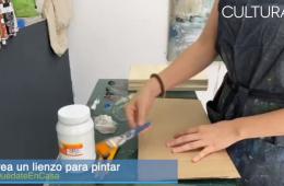 Crea tu propio lienzo para pintar
