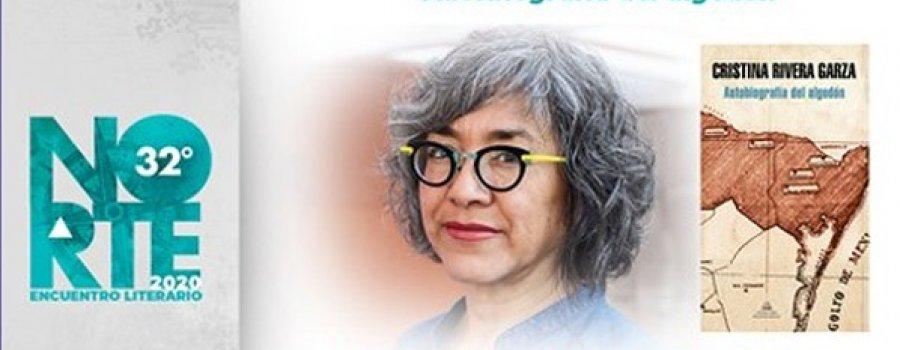 Charla con Cristina Rivera Garza. Norte 32° Encuentro Literario 2020
