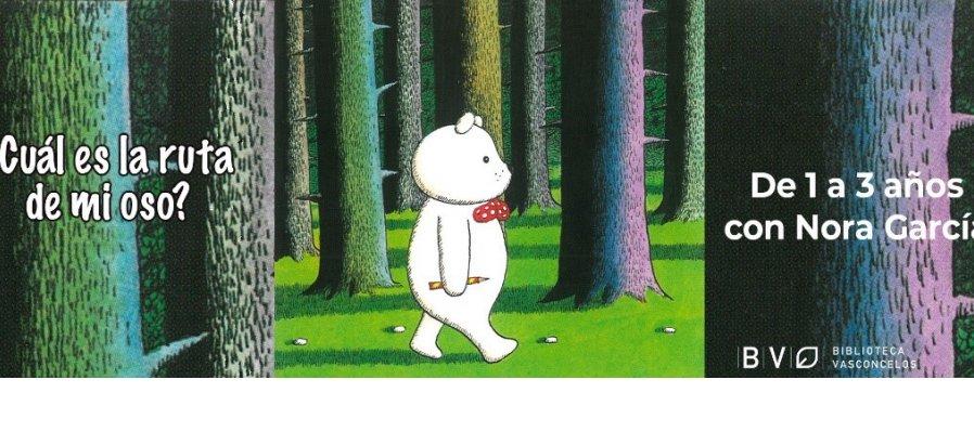 ¿Cuál es la ruta de mi oso?
