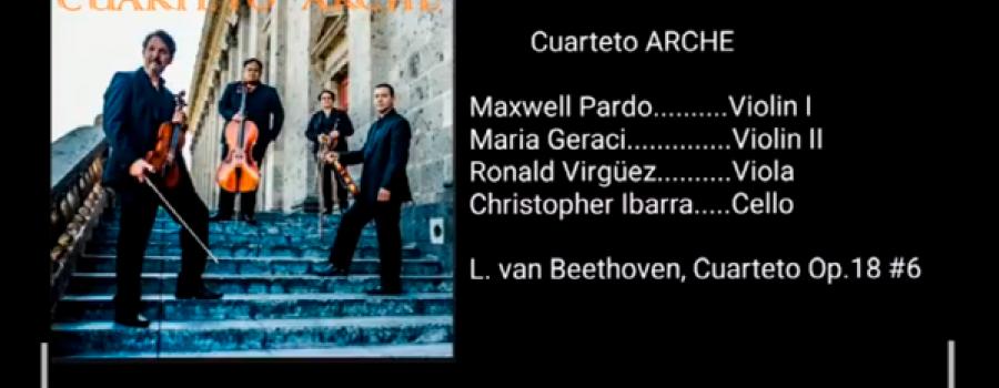 El Cuarteto Arche interpreta a Beethoven