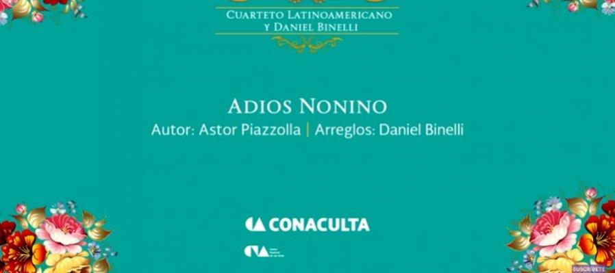 Conciertos guiados. Cuarteto Latinoamericano y Daniel Binelli, música de Astor Piazzolla