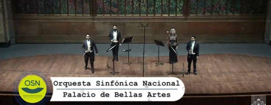 Cuarteto de Alientos Madera con la Orquesta Sinfónica Nacional