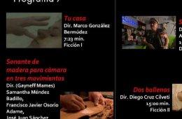 CUEC, Muestra Filmica 2017. Programa 7