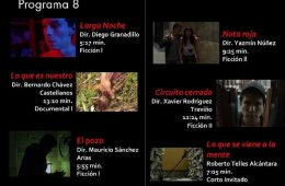 CUEC, Muestra Filmica 2017. Programa 8