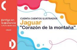 Cuentacuentos ilustrados - Jaguar. Corazón de la montañ...