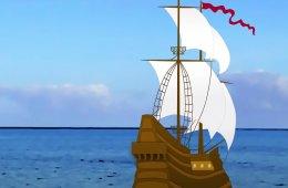 El Fuerte de San Diego y la Nao, dibujos animados