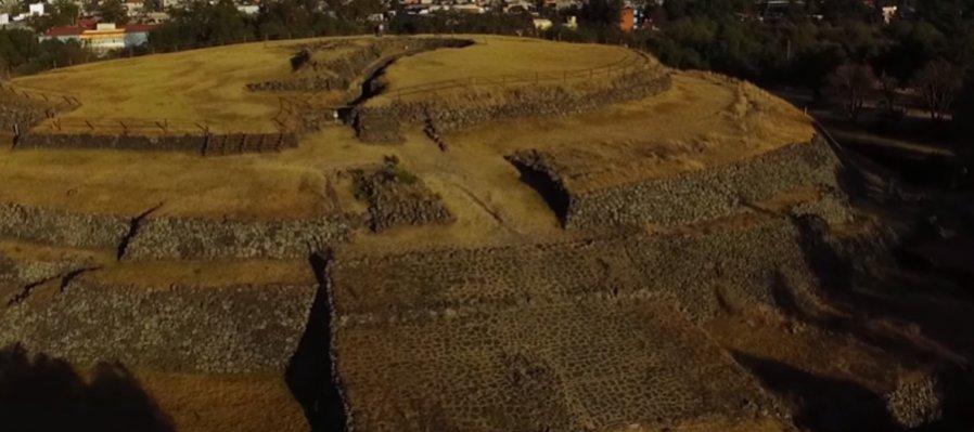 El México antiguo en las ciudades. Zona arqueológica de Cuicuilco