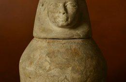 Ritos funerarios del Egipto faraónico: los vasos canopos...