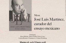 José Luis Martínez: Curador del ensayo mexicano