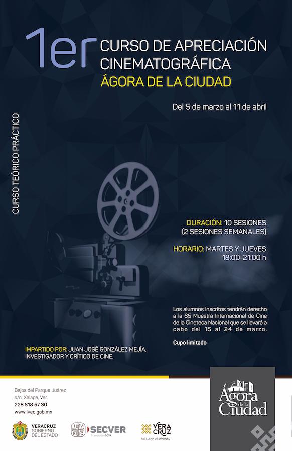 1er Curso de apreciación cinematográfica Ágora de la C...