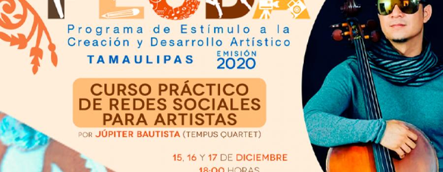 Curso práctico de redes sociales para artistas: parte dos