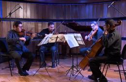 Cuarteto de cuerdas de la Orquesta Sinfónica de Aguascal...