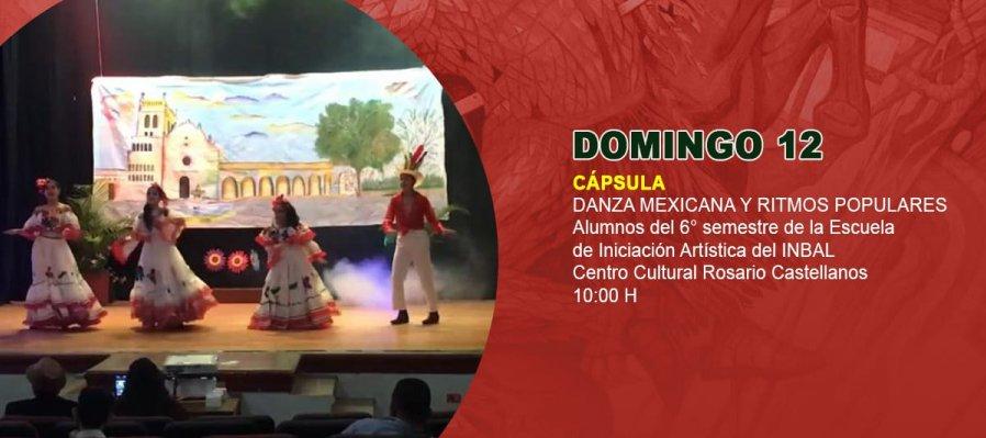Danza mexicana y Ritmos populares