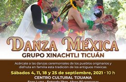 Danza Mexica con el grupo Xinachtli Ticuán