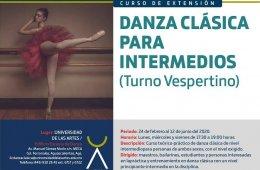 Danza clásica para intermedios