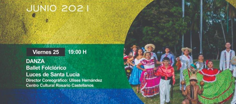 """Ballet folclórico """"Luces de Santa Lucía"""""""