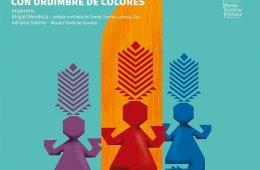 Danzantes labrados con urdimbre de colores