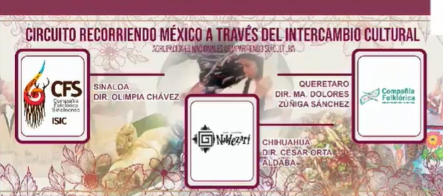 Circuito Recorriendo México a través del intercambio cultural. Querétaro, Sinaloa y Chihuahua