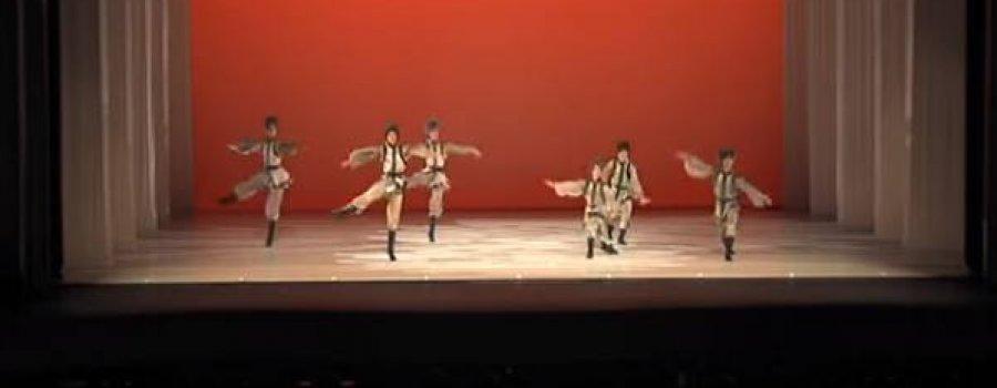 El Cascanueces, Danza rusa en Noche de Gala