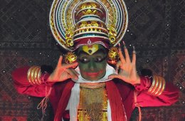 Espectáculo de Kathakali (India)
