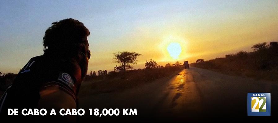 De cabo a cabo 18, 000 km