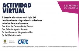 El derecho a la cultura en el siglo XXI La cultura frente...