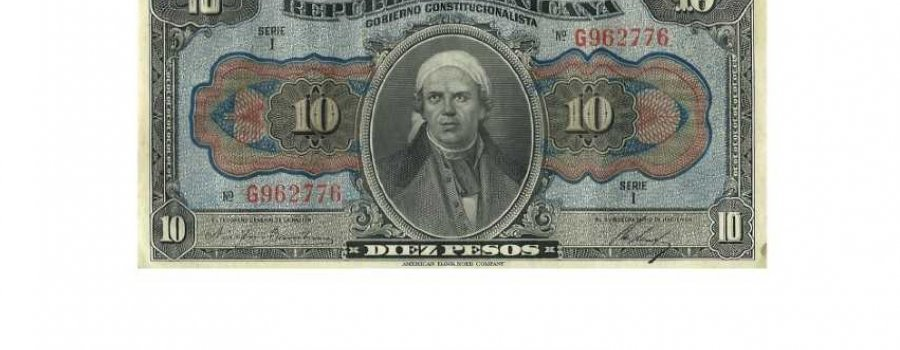 Currency and History in the Centennial of the Constitution of 1917