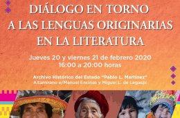 Diálogo en Torno a las Lenguas Originarias en la Literat...