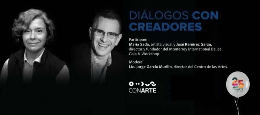 Diálogos con creadores: María Sada y José Ramírez Garza