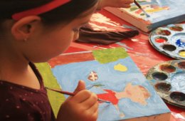 Taller: El niño dibujante y pintor nivel básico