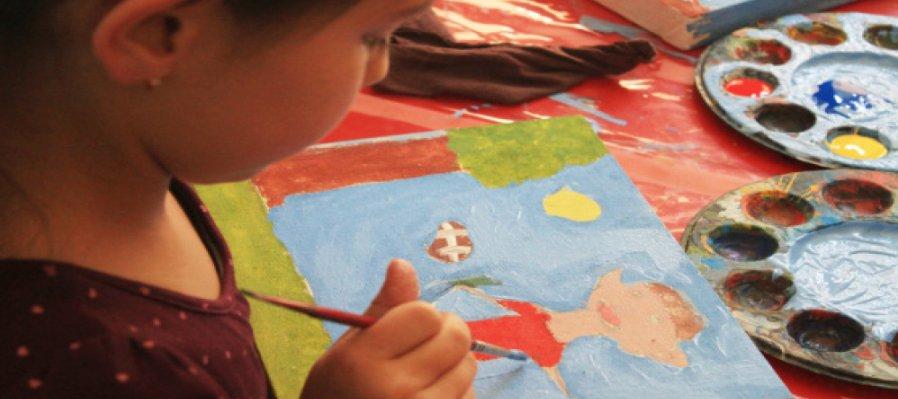 Taller El niño dibujante y pintor nivel básico