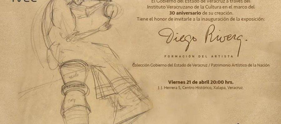 Diego Rivera, la formación del artista