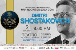 Una noche de gala con Dmitri Shostakovic