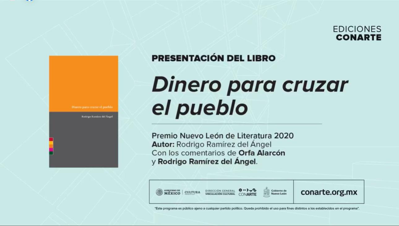 Presentación de libro: Dinero para cruzar el pueblo