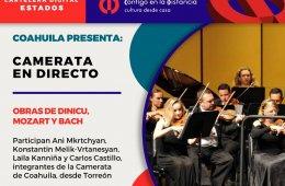 Obras de Dinicu, Mozart y Bach
