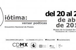 Encuentro de poesía Diótima: Versar poéticas
