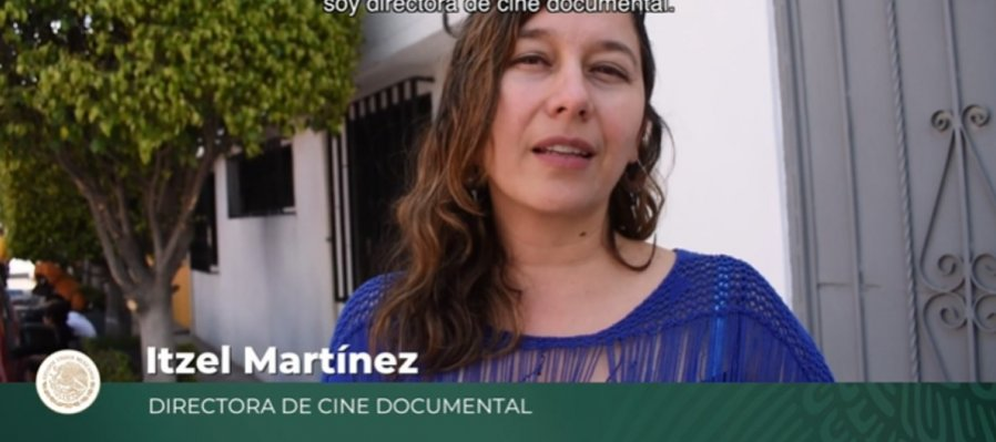 Itzel Martínez, cineasta documental
