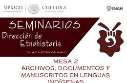 Archivos, documentos y manuscritos en lenguas indígenas