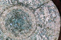 Disco de turquesa de Templo Mayor, restaurado
