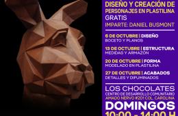 Diseño y Creación de Personajes en Plastilina