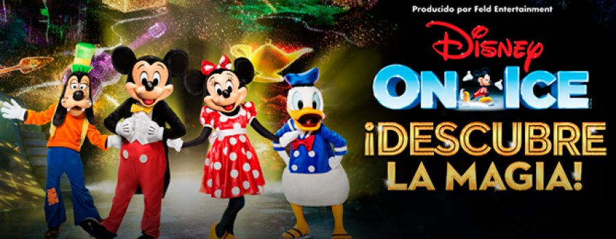 Disney on Ice. Discover the Magic
