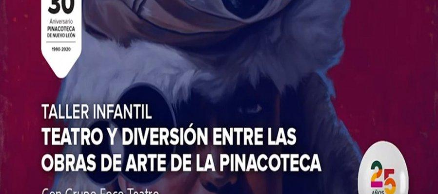 Teatro y diversión entre las obras de la Pinacoteca de Nuevo León