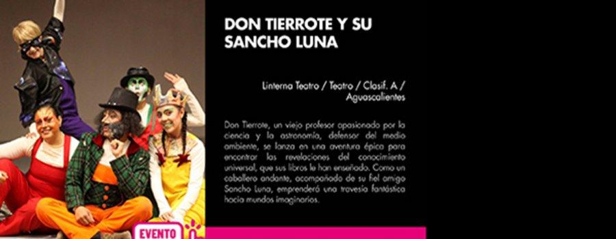 Don Tierrote y su Sancho Luna