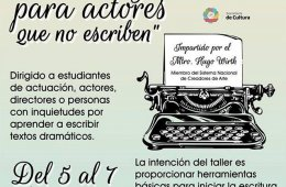 Dramaturgia para actores que no escriben