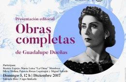 Obras completas de Guadalupe Dueñas