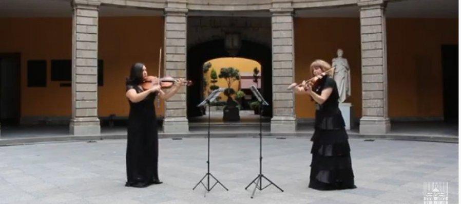 Dueto de Violas No. 4 en Fa Mayor