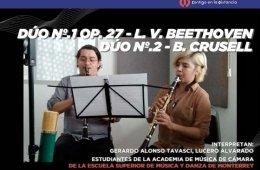 L. V. Beethoven - Dúo Nº.1 Op. 27 (1er mov) / B. Crusel...
